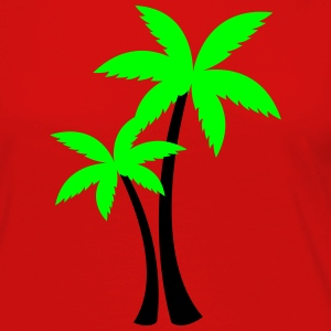 palm trees T-Shirts - Women's Premium Long Sleeve T-Shirt