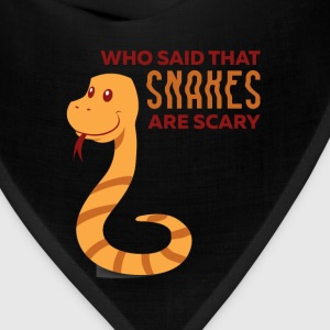 Snakes - Who said that snakes are scary - Bandana
