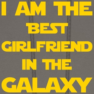 I'm the best girlfriend in the galaxy! - Men's Hoodie