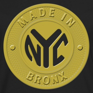 Made In the Bronx T Shirt - Men's Premium Long Sleeve T-Shirt