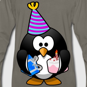 Party Penguin - Men's Premium Long Sleeve T-Shirt