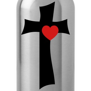 From the cross with love - Water Bottle