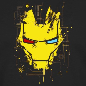 IronMan Mask - Men's Premium Long Sleeve T-Shirt