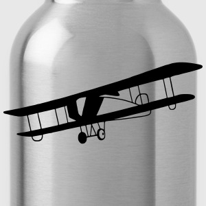 Vintage airplane - Water Bottle