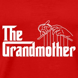 The grandmother Caps - Men's Premium T-Shirt