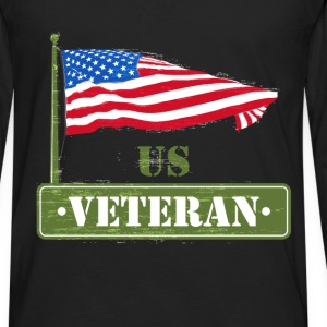 US Veteran - US Veteran - Men's Premium Long Sleeve T-Shirt