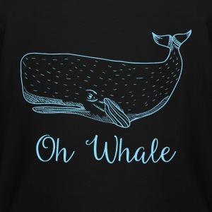 Whale - Oh Whale - Men's Tall T-Shirt