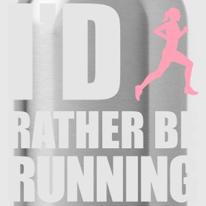id_rather_be_running T-Shirts - Water Bottle