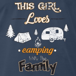 Camping Girl - Men's Premium T-Shirt