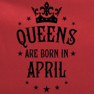Queens are born in April birthday Crown sexy Tee - Computer Backpack