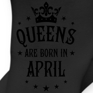 Queens are born in April birthday Crown sexy Tee - Leggings