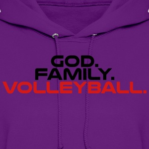 God Family Volleyball t-shirt - Women's Hoodie