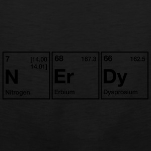 NErDy Periodic Table Word Mugs & Drinkware - Men's Premium Tank