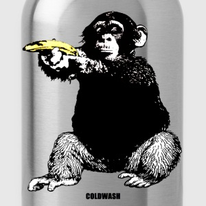 MONKEY SHOOTING BANANA - Water Bottle
