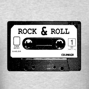 ROCK  N ROLL CASSETTE - Men's T-Shirt