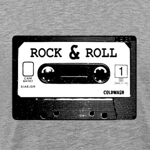 ROCK  N ROLL CASSETTE - Men's Premium T-Shirt