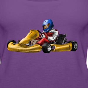 karting T-Shirts - Women's Premium Tank Top