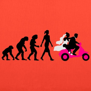evolution_of_woman_wedding_scooter_a3c T-Shirts - Tote Bag