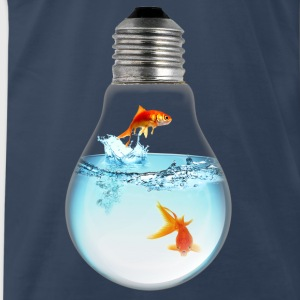 Fish LightBulb 3000 Tanks - Men's Premium T-Shirt