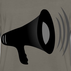 Loud Megaphone (Details) - Men's Premium Long Sleeve T-Shirt