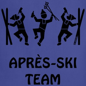 Après-Ski Team Long Sleeve Shirts - Adjustable Apron