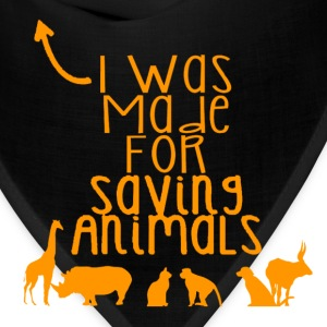 Saving Animals - Bandana