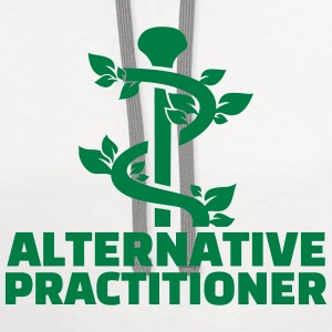 Alternative practitioner T-Shirts - Contrast Hoodie