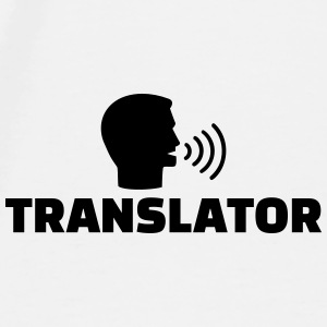 Translator Mugs & Drinkware - Men's Premium T-Shirt