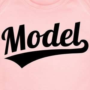Model Kids' Shirts - Short Sleeve Baby Bodysuit