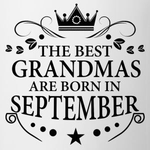 The Best Grandmas Are Born In September Long Sleeve Shirts - Coffee/Tea Mug