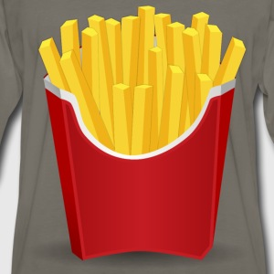 French Fries - Men's Premium Long Sleeve T-Shirt