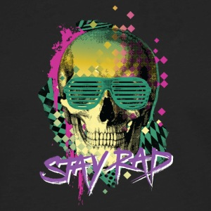 Stay Rad Skull - Men's Premium Long Sleeve T-Shirt