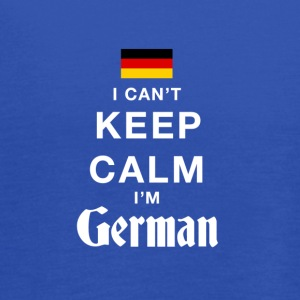 I CAN'T KEEP CALM I'M GERMAN - Women's Flowy Tank Top by Bella