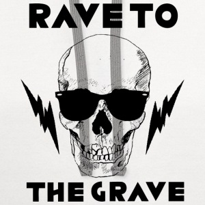 Rave to the Grave - Contrast Hoodie