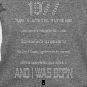 1977 40th birthday - Women's Wideneck Sweatshirt