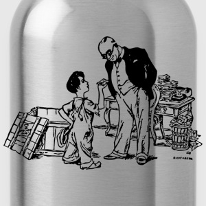 Banker stingy wealthy - Water Bottle