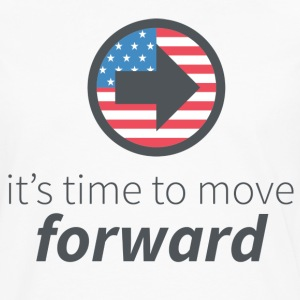 Move Forward T-Shirts - Men's Premium Long Sleeve T-Shirt