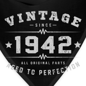 Vintage 1942 Aged To Perfection T-Shirts - Bandana