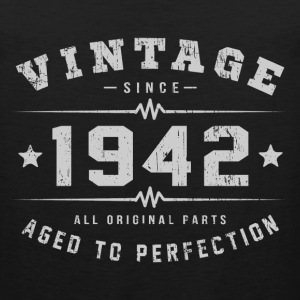 Vintage 1942 Aged To Perfection T-Shirts - Men's Premium Tank