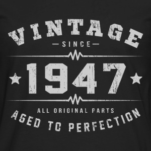 Vintage 1947 Aged To Perfection T-Shirts - Men's Premium Long Sleeve T-Shirt