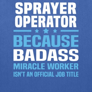Sprayer Operator Tshirt - Tote Bag