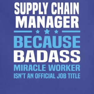 Supply Chain Manager Tshirt - Adjustable Apron