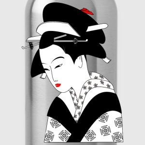 Asian Woman - Water Bottle