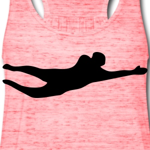 Goalkeeper silhouette - Women's Flowy Tank Top by Bella
