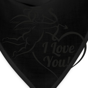 vintage-cupid-bow-wings-Valentines-Day-i-love-you - Bandana