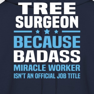 Tree Surgeon Tshirt - Men's Hoodie