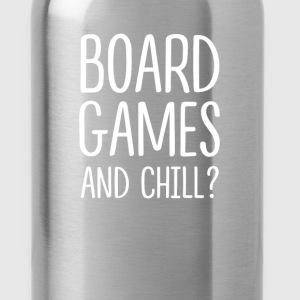 Board Games - Board games and chill? - Water Bottle