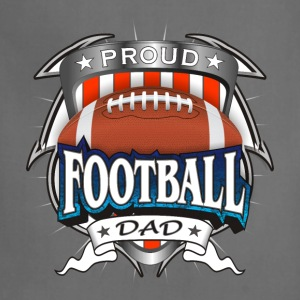 Proud Football Dad T-Shirts - Adjustable Apron