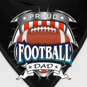Proud Football Dad T-Shirts - Bandana