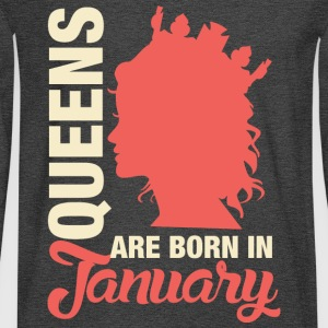 Born In January T-Shirts - Men's Long Sleeve T-Shirt